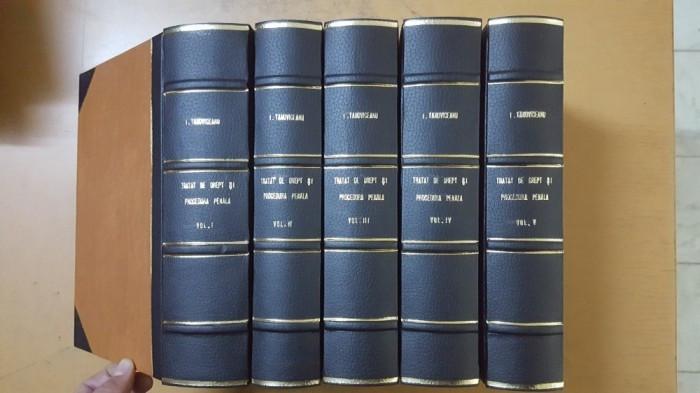 I. Tanoviceanu, Tratat de drept și de procedură penală, Vol 1-5 , București 1924