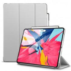 """Husa de Protectie ESR Yippee pentru Apple iPad Pro 11"""" 2018 Functii Stand&Smart Sleep Argintiu"""