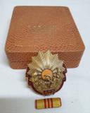 Republica Populara Romana medalie SUPERBA Set COMPLET Ordinul Muncii 1952-1955