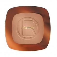 Pudra Bronzanta L OREAL Glam Bronze Long Wearing Matte Bronzer 09 Golden Cinnamon 9 gr