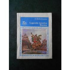 DIMITRIE BOLINTINEANU - LEGENDE ISTORICE. BASME