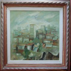 Konstantyn Ungureanu Box (1956) - Peisaj sucevean, 1989