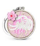 Amuleta iubirii si a norocului in dragoste - vulpea alba cu cele 9 cozi si floarea de dragoste