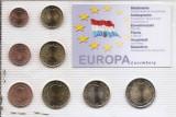 Luxemburg Set 8C - 1, 2, 5, 10, 20, 50 euro cent, 1, 2 euro 2004 - UNC !!!