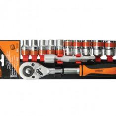 "Trusa tubulare 1/2"" x 12 pcs 10 24 mm CRV Gadget DIY"