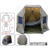 Umbrela T2 Baracuda tip cort pentru o persoana