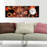 Cumpara ieftin Tablou decorativ cu ceas Clockity, 248CTY1627, Multicolor