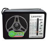 Cumpara ieftin Radio portabil Leotec LT-608B, 4 benzi, mufa jack
