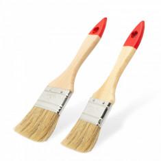 Set pensule model rotund maner lemn 2 buc. pachet