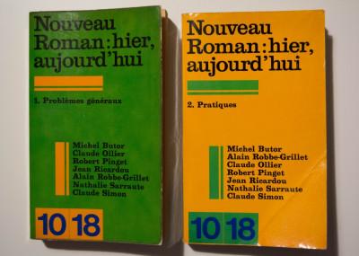 Nouveau Roman: hier, aujourd'hui (2 vol.: Problemes generaux + Pratiques) foto