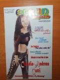 ecran magazin 1-7 ianuarie 2001-trei sud est,trupa AMICI,festivalul alexandria