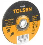 Disc abraziv pentru taiat metal, 230 X 6.0 X 22 mm, Tolsen