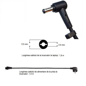 Incarcator ASUS K53SV 90 W