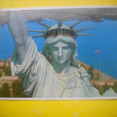 HOPCT 61156  STATUIA LIBERTATII NEW YORK SUA  -STAMPILOGRAFIE-CIRCULATA