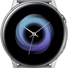 Smartwatch Samsung Galaxy Watch Active, Procesor Dual-Core 1.15GHz, Super AMOLED 1.1inch, 750MB RAM, 4GB Flash, Bluetooth, Wi-Fi, Tizen (Argintiu)