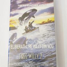 Caseta video VHS originala film tradus Ro - Free Willy 2