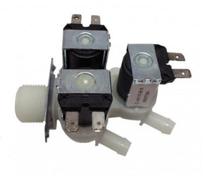 Electrovalva masina de spalat 3 iesiri 180° 3X12 MM foto