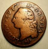 J.118 FRANTA LUDOVIC LOUIS XVI 1 SOL 1791 D