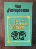 De La Clovnul Citire ...- Ion Fintesteanu