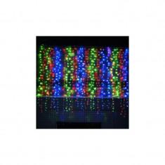 Instalatie de Craciun 2 m x 2 m, Perdea Multicolora, 320 leduri, SDX, 5812M