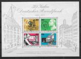 Berlin - 1973 - Emiterea pe unde radio - serie completă MNH în bloc (T75), Nestampilat