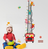 Sticker decorativ, masuratoare masina de pompieri 180 cm, 119STK