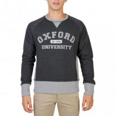 Hanorac Oxford University - OXFORD-FLEECE-RAGLAN- Bărbați - Gri