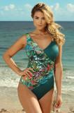Costum de baie dintr-o singură piesă, de damă, Savannah Tropical, Rosme