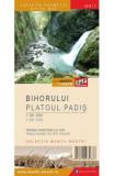 Muntii Bihorului - Platoul Padis - Harta de drumetie - Muntii nostri