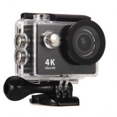 Set Camera Sport Full HD, Telecomanda, Imagini LIVE Pe Telefon si Carcasa rezistenta la Apa