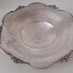fructiera veche de argint 800