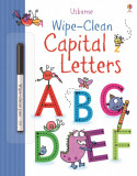 Wipe-Clean Capital Letters - Usborne book (3+)