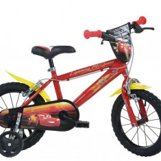 Bicicleta copii 16'' CARS PlayLearn Toys