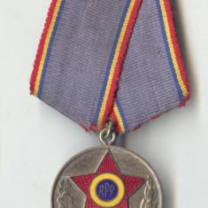 Medalia 1943-1953 Aniversare fortele armate ale RPR medalie veche superba