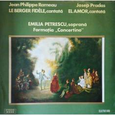 Jean Philippe Rameau - Le Berger Fidele. Josep Pradas - El Amor (Vinil)