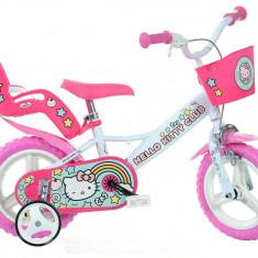 Bicicleta copii 12'' Hello Kitty PlayLearn Toys