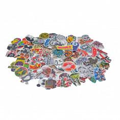 Stickere autocolante, 100 bucati, Colectia A, Gonga