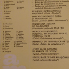 LXXC1 Automatica management calculatoare nr 49- Editura tehnica