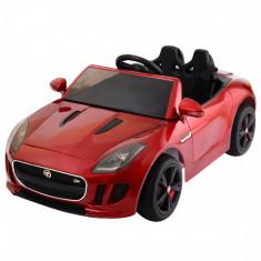 Masinuta electrica Jaguar F-Type, rosu