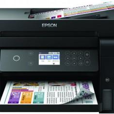 Multifunctional inkjet color epson ecotank ciss l6170 dimensiune a4 (printarecopiere scanare) printare borderless viteza 33ppm