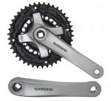 Angrenaj Pedalier Shimano Tourney FC-TY501 , 42x34x24T , Brat 170mm , Pentru 6/7PB Cod:EFCTY501C244XSB, Angrenaje pedaliere