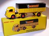 Macheta TRACTEUR PANHARD ET SEMI-REMORQUE CALBERSON - Dinky Toys