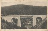 România, Anina, Pod, carte poştală circulată, 1939
