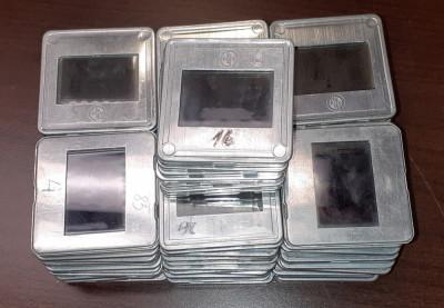 1333 diapozitive medicale vechi (aluminiu cu sticla) foto