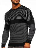 Pulover negru bărbați Bolf 1014
