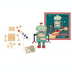 Set de pictat Robot Egmont