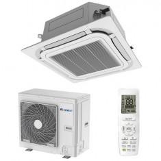 Aparat de aer conditionat tip caseta Gree GUD35T/A-T-GUD35W/NhA-T Inverter 12000 BTU A+ Alb, A++