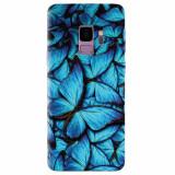 Husa silicon pentru Samsung S9, Blue Butterfly 101