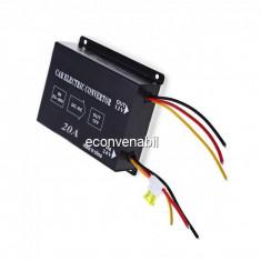 Transformator Convertor tensiune 24V 12V 20A