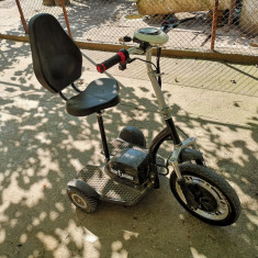 Tricicleta electrica pentru persoane in varsta sau cu dizabilitati